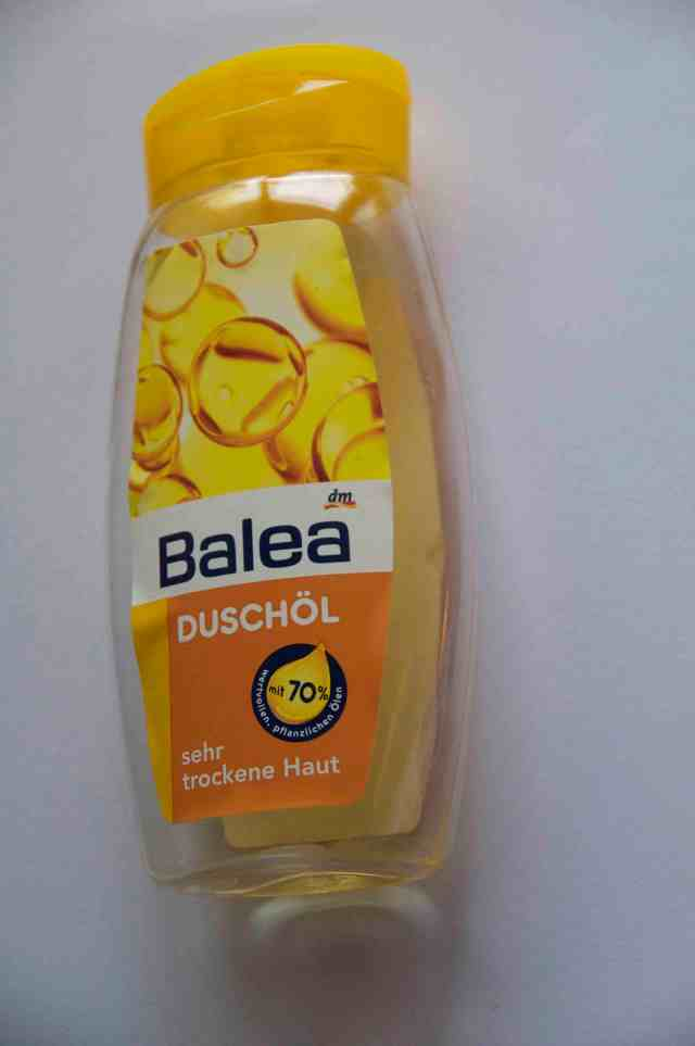Duschöl shower oil Balea