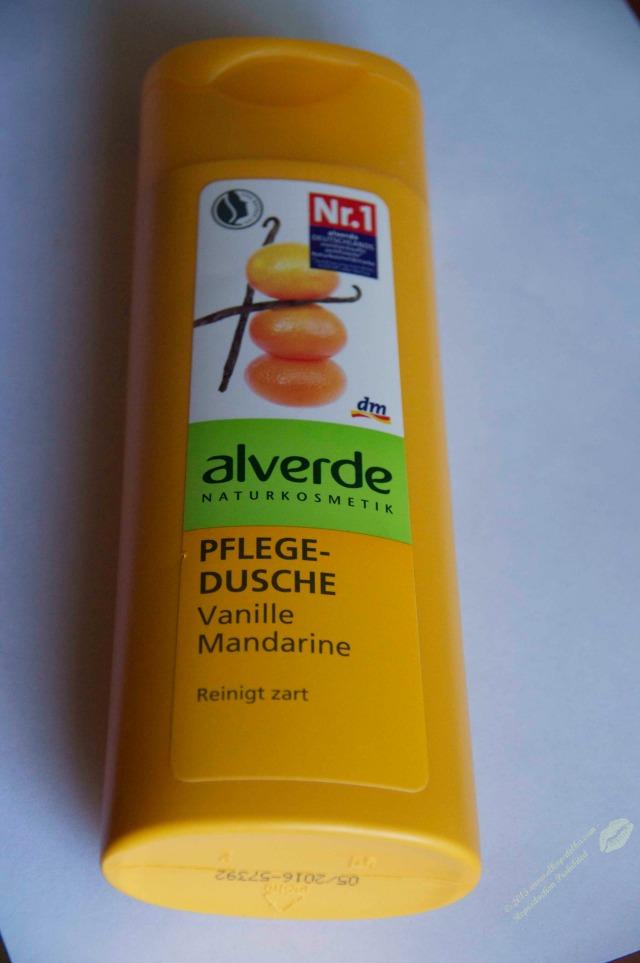 Alverde Vanille Mandarin Duschgel dm drogerie