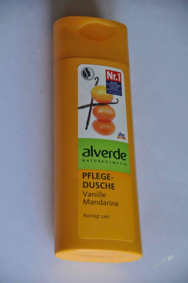Alverde Vanille Mandarin Shower Gel wm2