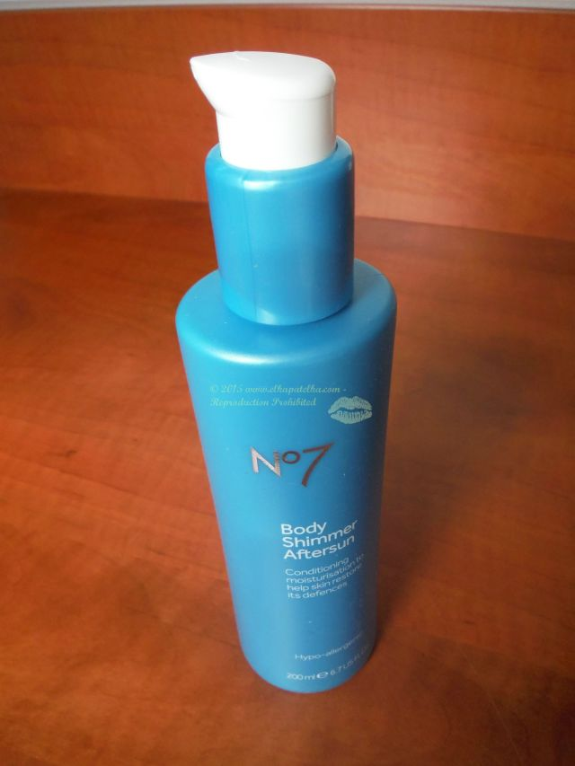 No7 Body Shimmer Aftersun wm